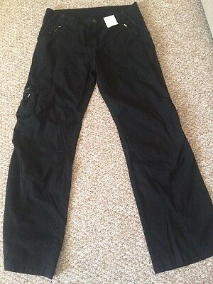 BNWT Dorothy Perkins Maternity Trousers Size 10 Cotton RRP £25