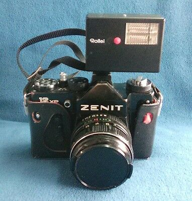 Macchina Fotografica Camera Zenit 12 Xp Vintage Made In Ussr