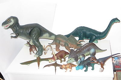 vintage Tyco dino riders dinosaur large lot t-rex weapons accessories etc