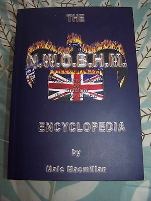 N.W.O.B.H.M. Encyclopedia by Malc MacMillan Paperback - FREE UK P&P