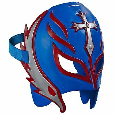 WWE Superstar Wrestling Mask Adjustable Kids Costume Toy Replica - Rey Mysterio