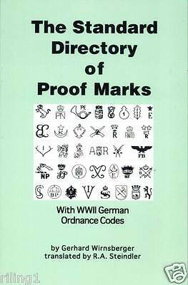 The Standard Directory of Proof Marks WW2 German Ordnance Codes Wirnsberger