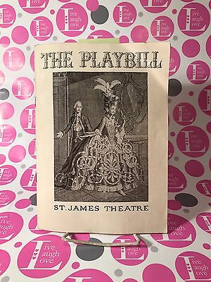 May Wine ~Vintage Playbill - St. James Theatre, New York,  January 27,1936 ~ VG+
