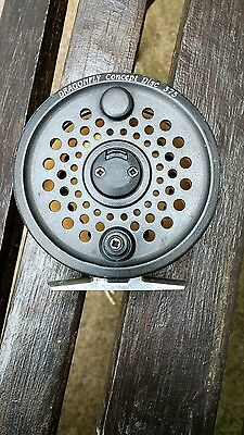 Dragonfly Concept Disc 375 fly reel and 3 spare spools