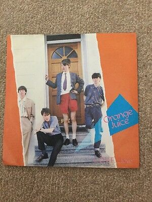 "Orange Juice L.o.v.e. Love Vinyl 7"" Single"