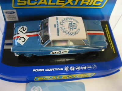 Scalextric Nscc Cortina 2016  Leeds Swap Meet Car Limited Ed Of 62 Mint Boxed