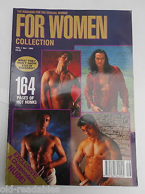 """VERY SCARCE magazine """" FOR WOMEN - COLLECTION"""" Volume 1 Number 1 - 1993"""