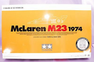 TAMIYA 1/12 MCLAREN M23 1974 Fitipaldi Hulme F1 Race Car Model Kit #12045 NEW