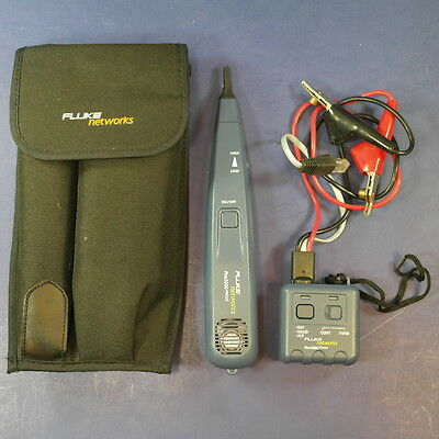 Fluke Intellitone Pro 3000 Analog Tone and Probe Kit, Excellent
