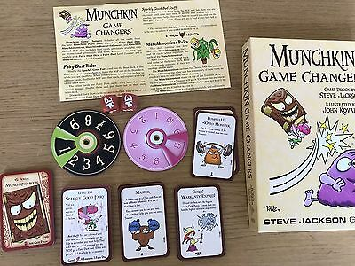 Munchkin Game Changers Expansion - Card / Board Game - Steve Jackson Games