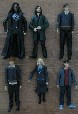 6 Harry Potter Figures