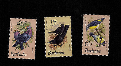 Barbados stamps - complete MH set of 3 - 1982 - Scott #570-2 - Birds - super !!