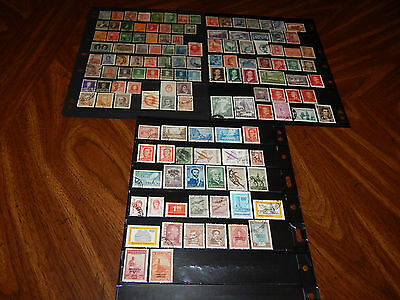 Argentina stamps - BIG lot of 132 mint hinged & used early stamps - super !!