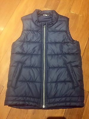 BNWOT SEED HERITAGE BOYS NAVY BLUE PUFFER VEST Sz 9-10   CHEAP POSTAGE!!