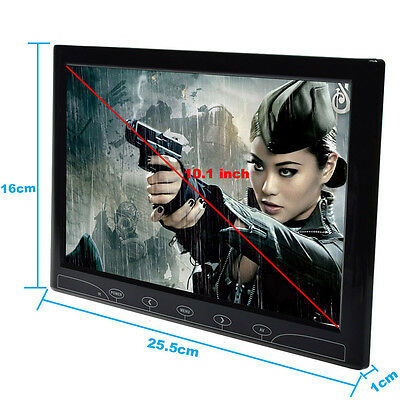 10.1/10 inch Surveillance PC CCTV Display Monitor  HDMI VGA AV Input W/Speaker