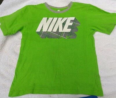 Youth boys clothing size 7 t-shirt cotton NIKE
