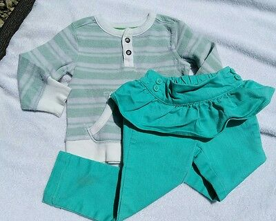 Infant baby girls clothing 12-18 months outfit set GENUIEN KIDS