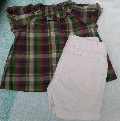Infant baby girls clothing 3-6 months outfit set JANIE AND JACK