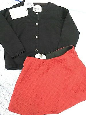 NEW NWT Toddler girls clothing 3-4 outfit set ZARA