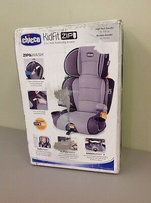 Chicco Kidfit Zip 2-in-1 Belt Positioning Booster Car Seat - Spectrum