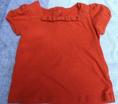 Infant baby girls clothing 18-24 months shirt top JANIE AND JACK