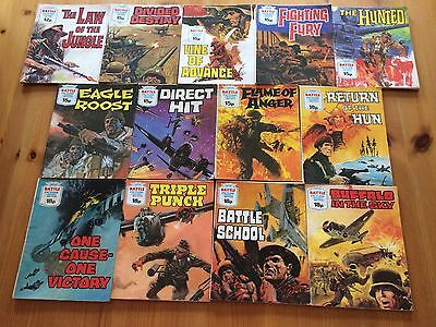 Collection Of Battle Picture Library Pocket Sized Comics