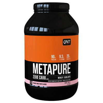 (36,99€/1kg) QNT Zero Carb Metapure 1kg; Yoghurt Forest Fruits Wheyproteinisolat