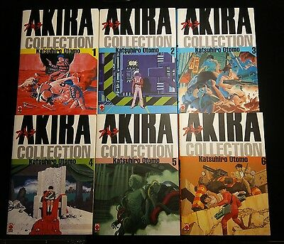 Akira Collection serie completa 1-6