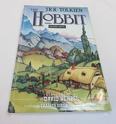 The Hobbit Illustrated By David Wenzel, Graphic Novel, Paperback