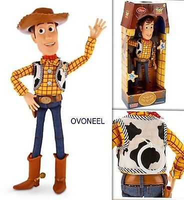 """Disney Toy Story Pull String Woody 16"""" Talking Figure Exclusive Collection  new"""