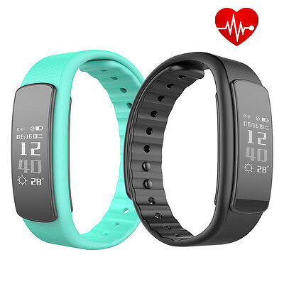1136905 Iwown I6 Hr Heart Rate Monitor Fitness Tracker Sports Smart Bracelet