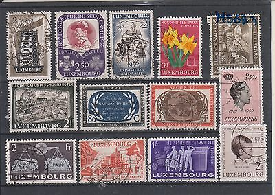 timbres luxembourg lot I2