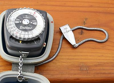 Gossen Sixtino Light Meter Vintage Retro 1960 West Germany selenium Analogue VG