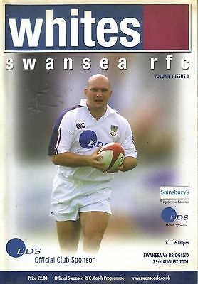 SWANSEA v BRIDGEND 2000/01 RUGBY UNION
