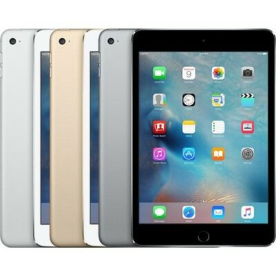 Apple iPad Mini 4 WiFi 128GB Silver *BRAND NEW+WARRANTY!*