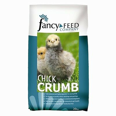20KG Fancy Feed Company Baileys Poultry/Ducking/Gosling Chick Crumb