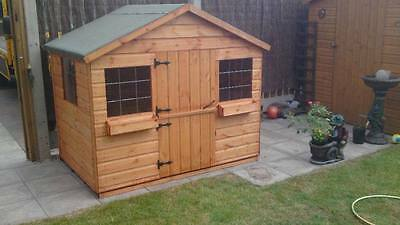 SHEDRITE 6x4 wooden playhouse ONLY £290 inc delivery