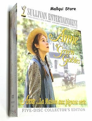 Anne Of Green Gables Dvd The Trilogy Collection (5 Dvd Set) - Brand New!
