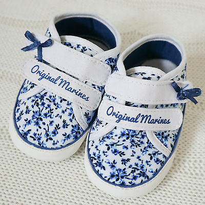 Baby Girl Shoes Size UK 3 / Eur 19 BRAND NEW - Original Marines