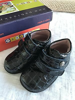 Pablosky Baby Girl Shoes Boots Size UK 3 / EU 19