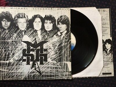 the michael schenker group - msg vinyl lp 12""
