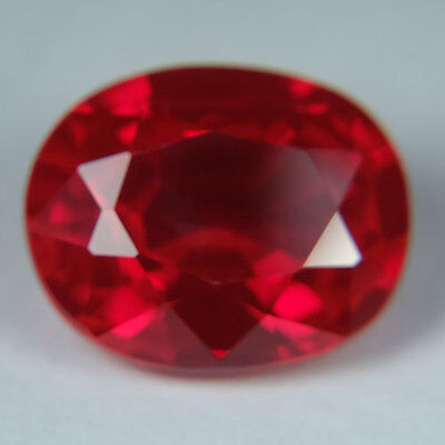 13.00ct.AWESOME BLOOD RED RUBY OVAL LOOSE GEMSTONE
