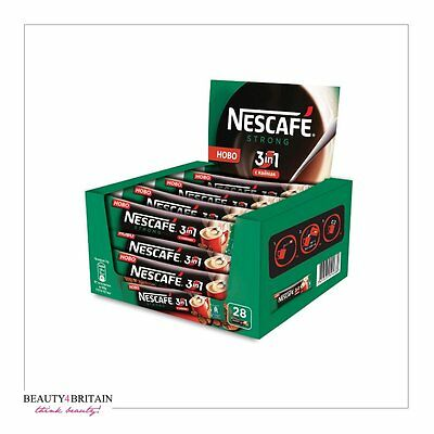 NESCAFE 3in1 STRONG 60 SACHETS 18 g/sachet WHOLESALE EU MADE LONG DATE FRESH