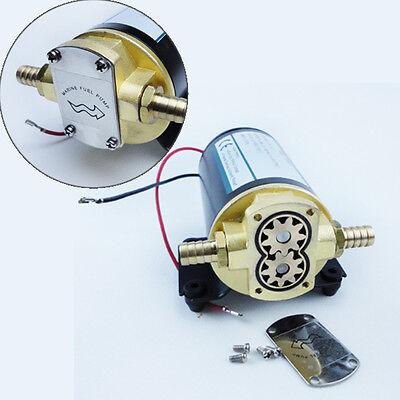 Free Shipping 12V Electric Oil Pump Diff Cooler Turbo Scavenge Conversion Pump