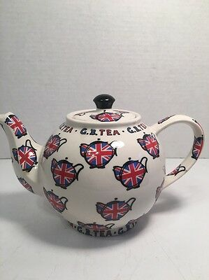 Paul Cardew G.B Tea Teapot - 2 cup teapot - British flag design - teapots