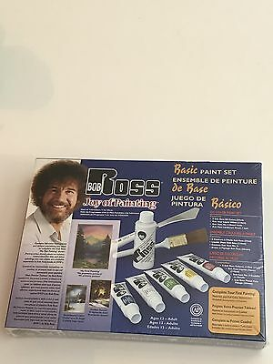 Bob Ross Joy Of Painting Basic Paint Set