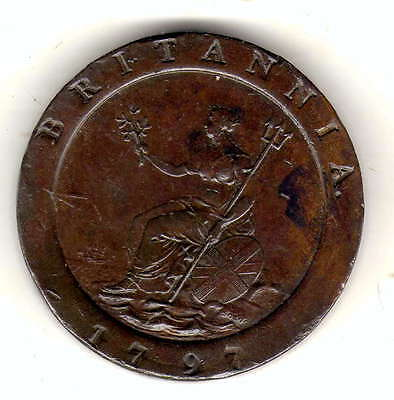 gb cartwheel twopence 1797 very nice grade