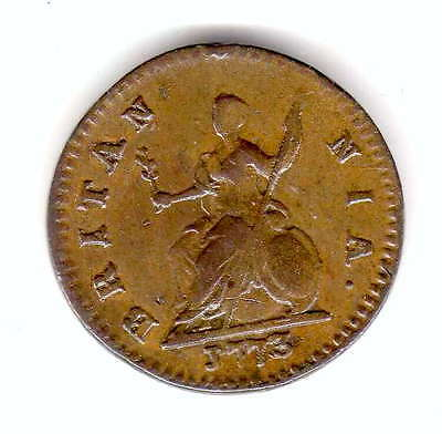 gb 1773 farthing very high grade