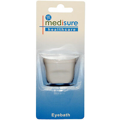 1 x Medisure Healthcare Plastic Bath Eye Wash Irritation Washing Station Cup