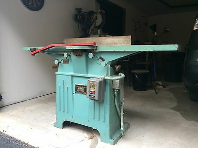 """1948  8"""" Oliver Jointer Model:144-BD (Woodworking Machinery)"""